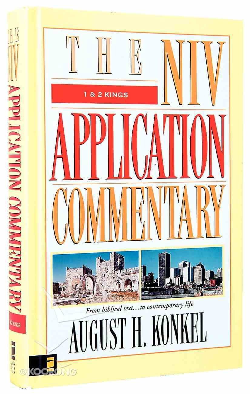 1 & 2 Kings (Niv Application Commentary Series) Hardback