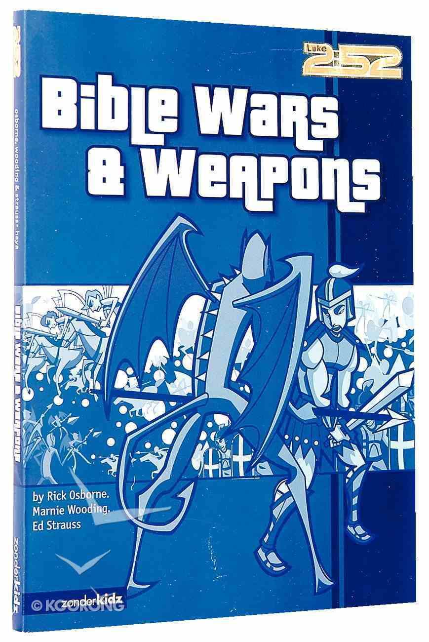 2: 52  Bible Wars & Weapons (2 52 Bible Series) Paperback