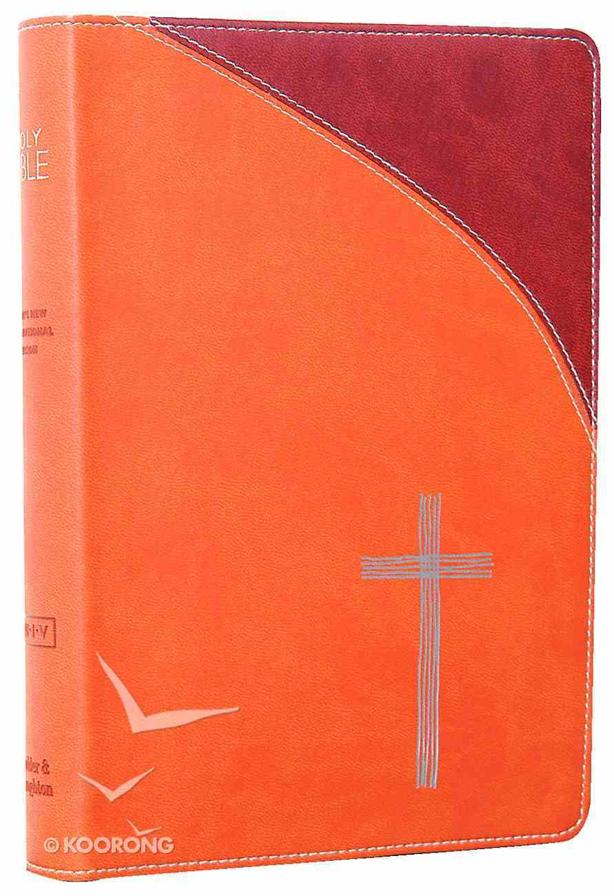 TNIV Popular With Bible Guide Soft-Tone Tan Imitation Leather