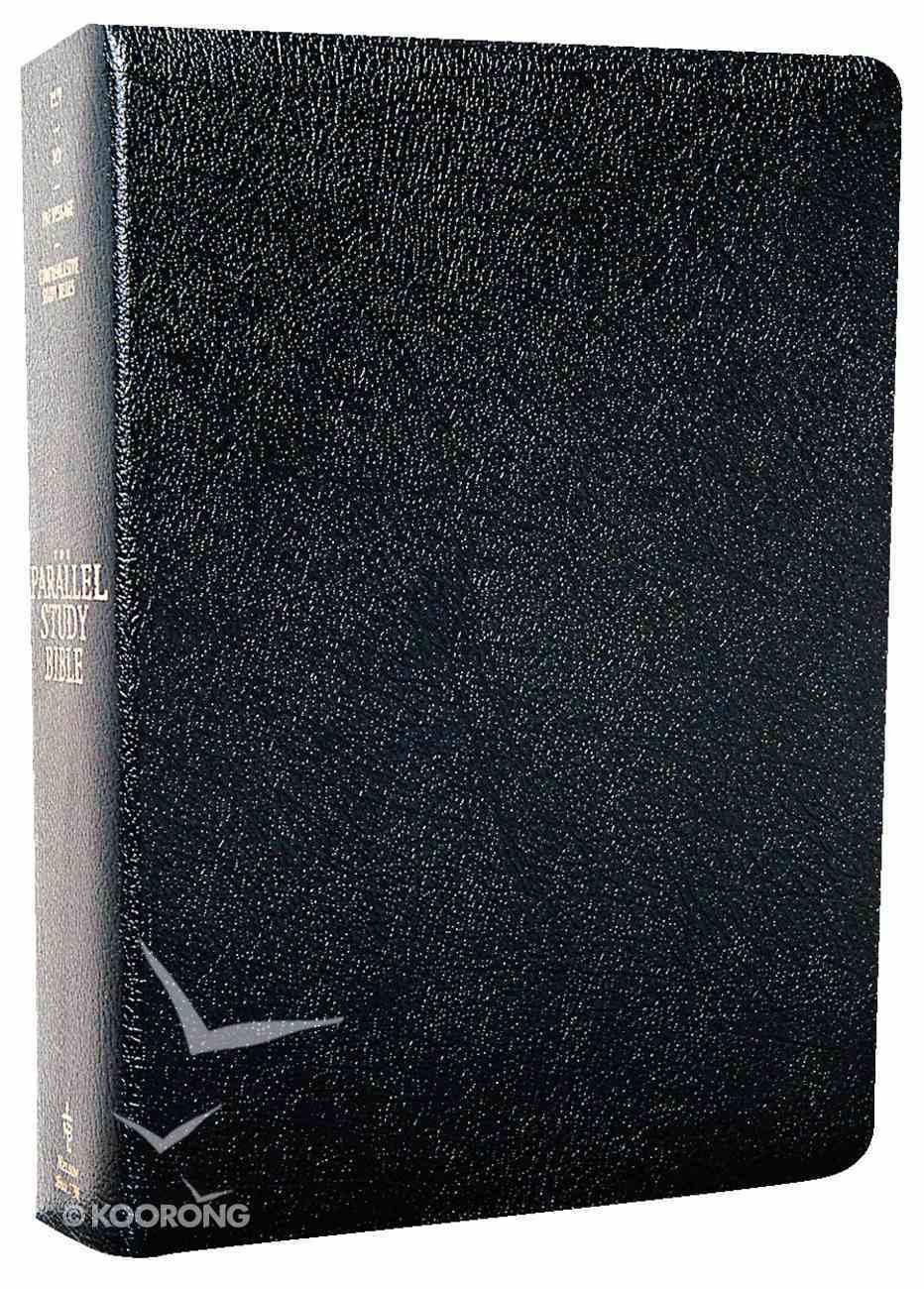 Nkjv/Ncv/Msg Parallel Study Bible Black Bonded Leather