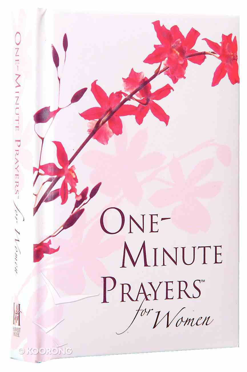 One-Minute Prayers For Women (Gift Edition) Hardback