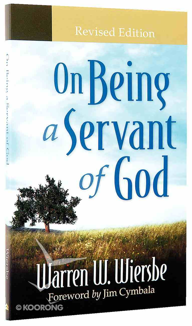 On Being a Servant of God Paperback
