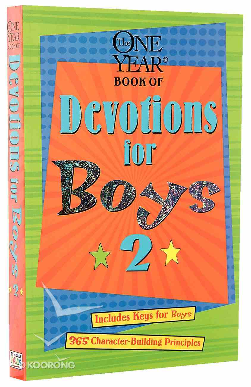 The One Year Devotions For Boys (Vol 2) Paperback