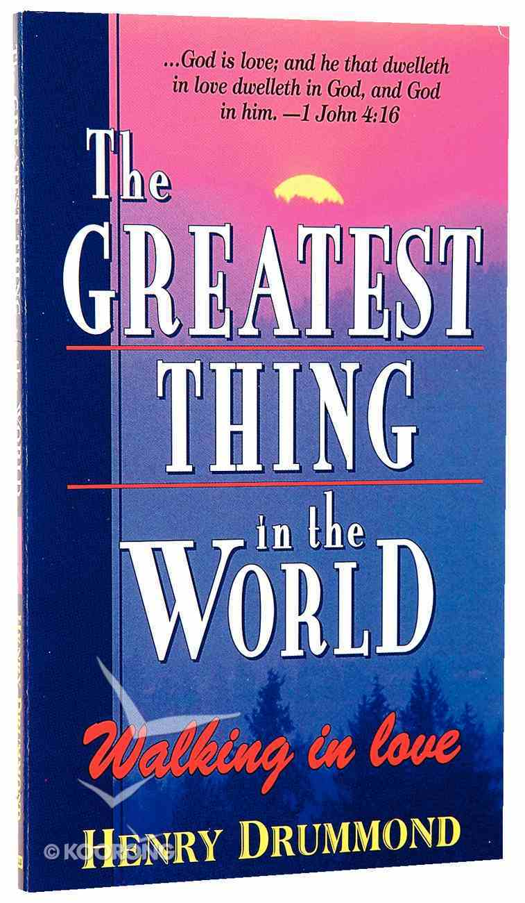 The Greatest Thing in the World Mass Market