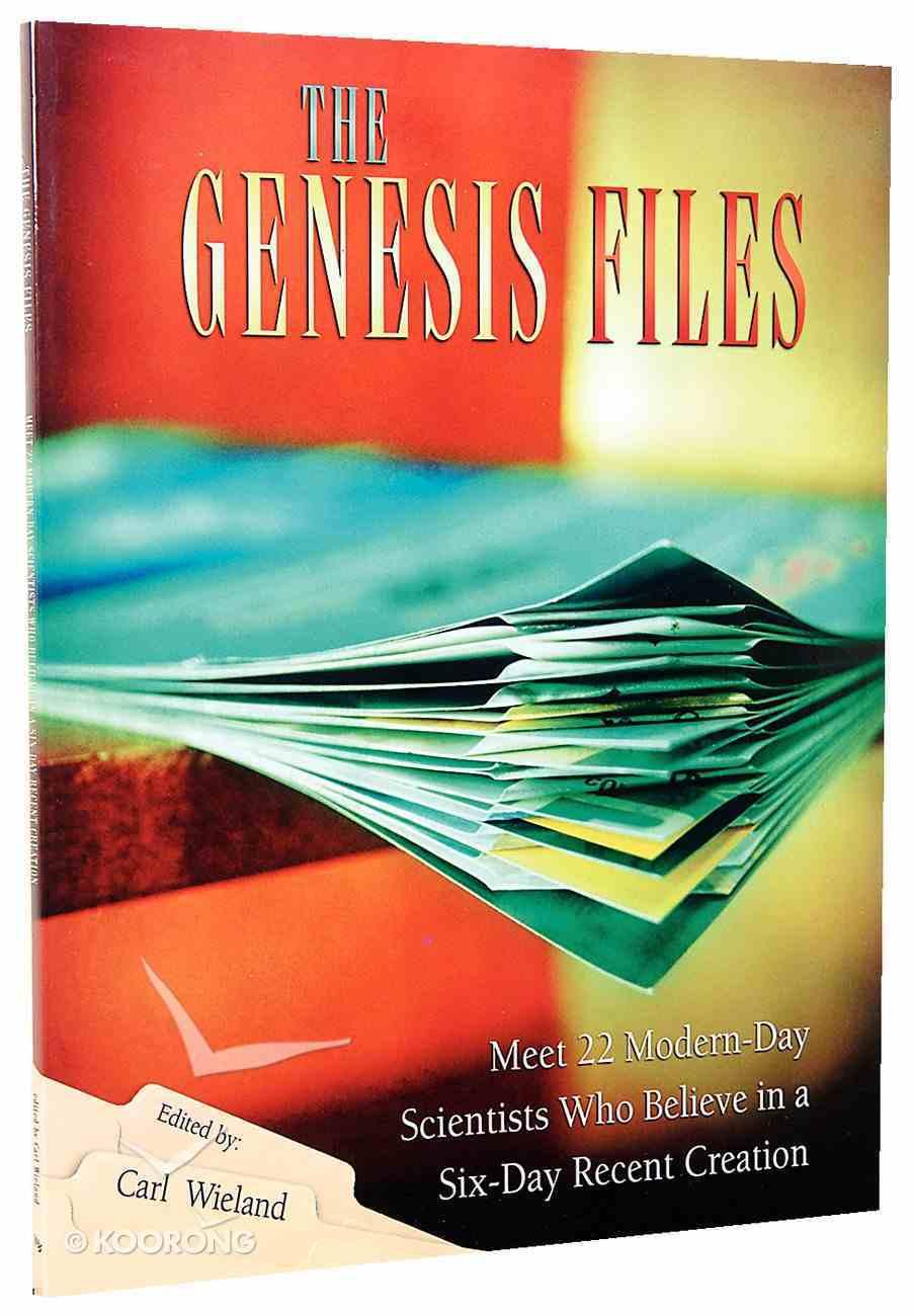 The Genesis Files Paperback