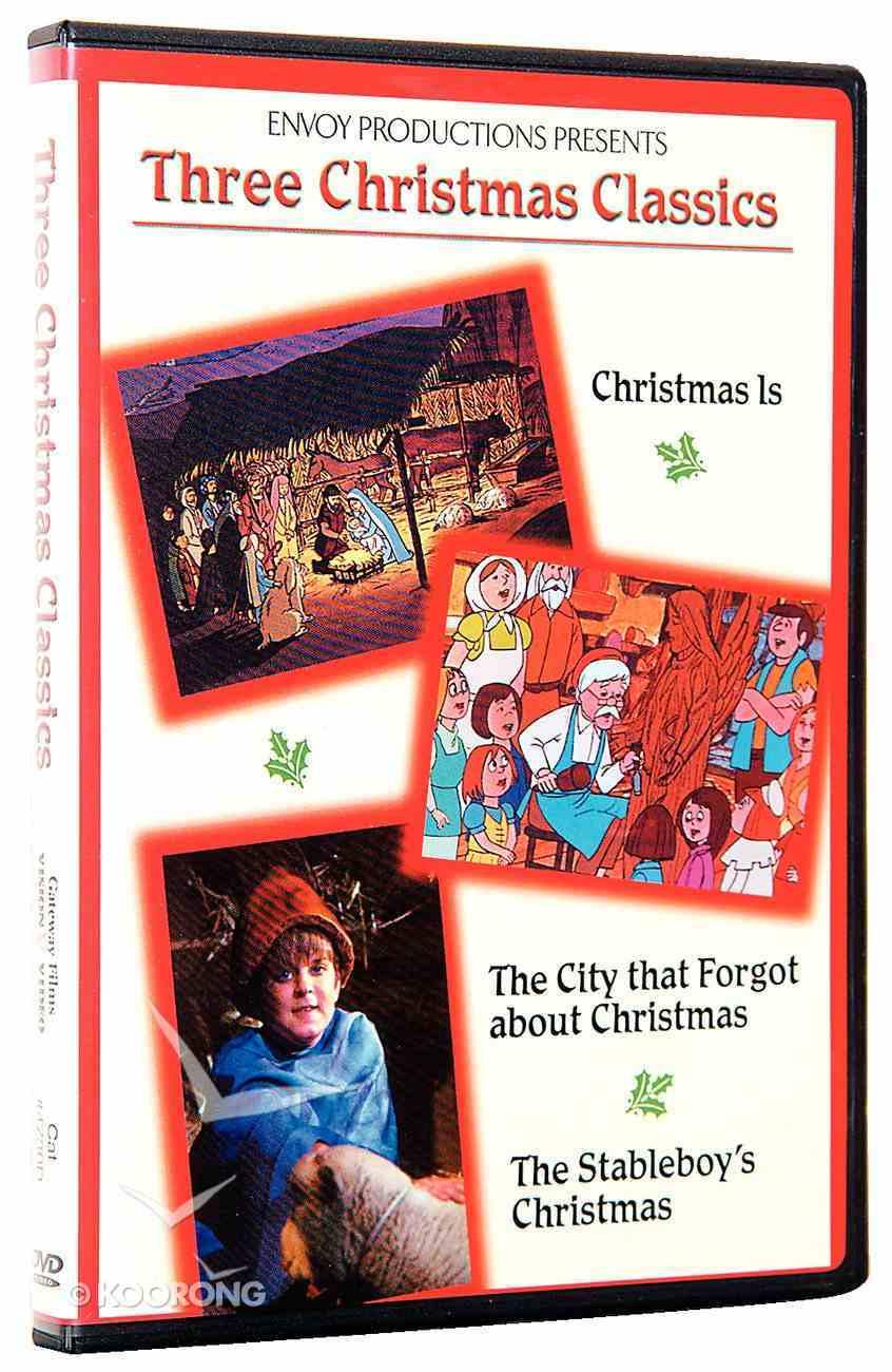 Three Christmas Classics DVD