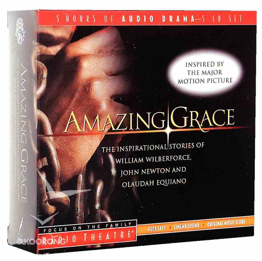 Radio Theatre: Amazing Grace (5cd Set) CD