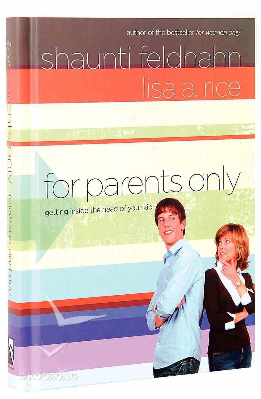 For Parents Only Hardback