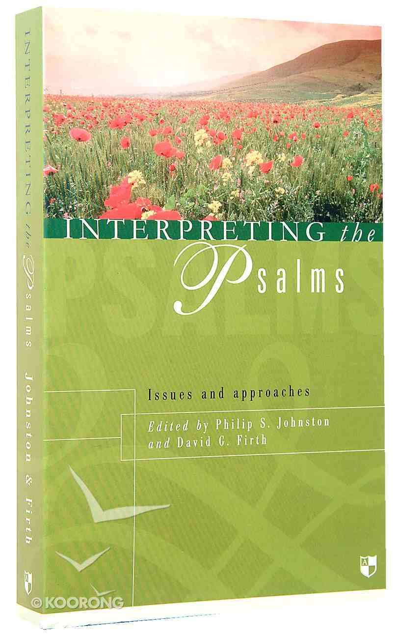 Interpreting the Psalms Paperback