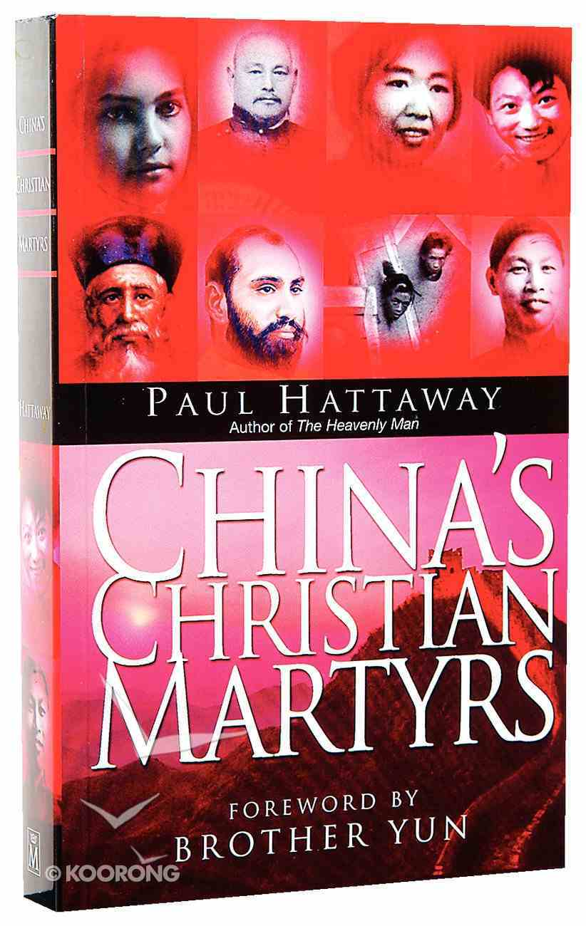China's Christian Martyrs Paperback