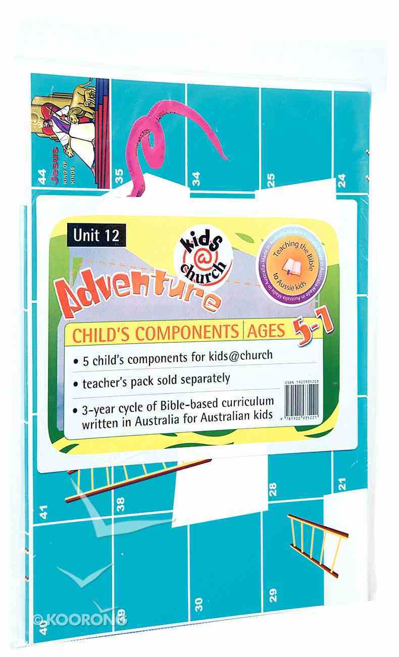 Kids@Church 12: Ad12 Ages 5-7 Child Components (5 Pack) (Adventure) (Kids@church Curriculum Series) Pack