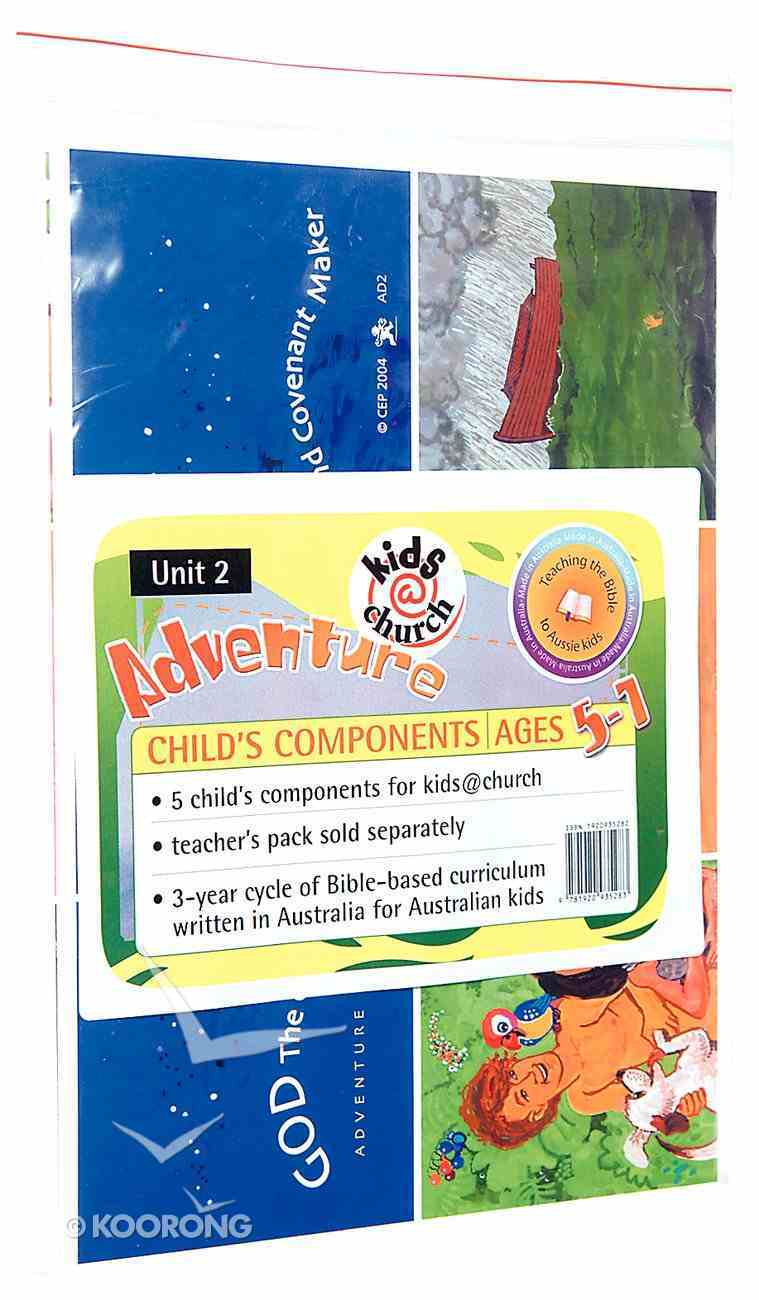 Kids@Church 02: Ad2 Ages 5-7 Child Components (5 Pack) (Adventure) (Kids@church Curriculum Series) Poster
