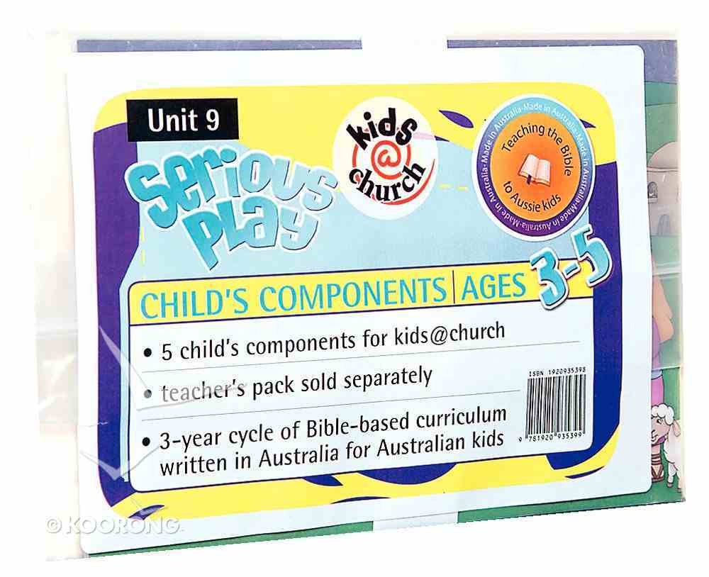 Kids@Church 09: Sp9 Ages 3-5 Child Components (Pack 5) (Serious Play) (Kids@church Curriculum Series) Poster