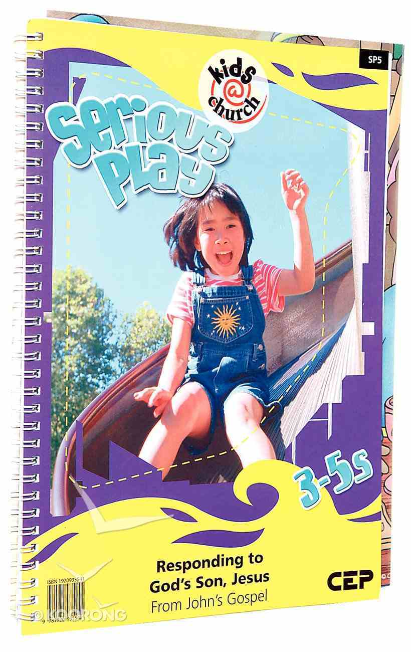 Kids@Church 05: Sp5 Ages 3-5 Teacher's Pack (Serious Play) (Kids@church Curriculum Series) Pack