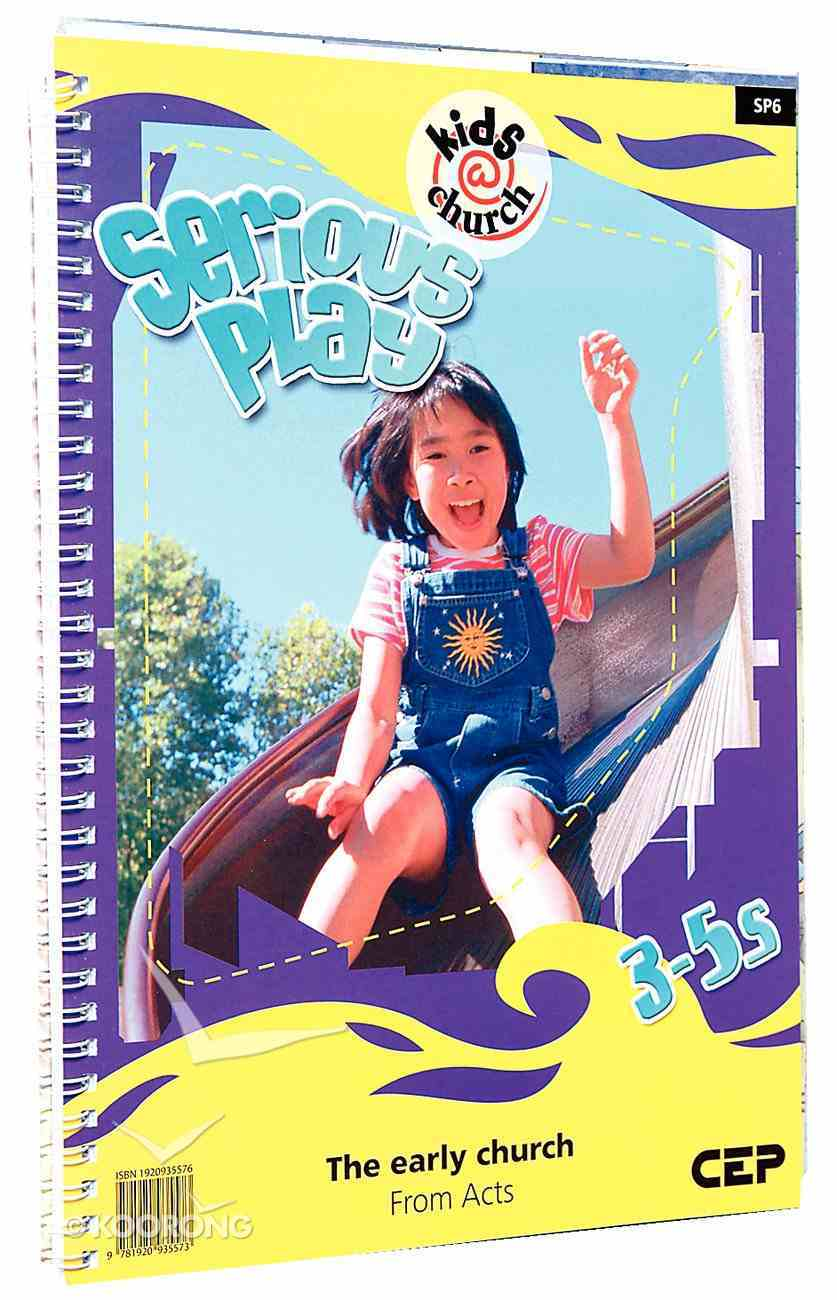 Kids@Church 06: Sp6 Ages 3-5 Teacher's Pack (Serious Play) (Kids@church Curriculum Series) Pack