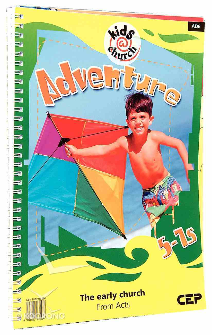 Kids@Church 06: Ad6 Ages 5-7 Teacher's Pack (Adventure) (Kids@church Curriculum Series) Pack