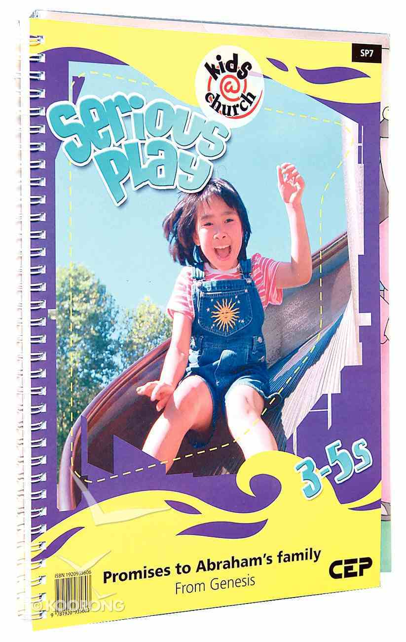 Kids@Church 07: Sp7 Ages 3-5 Teacher's Pack (Serious Play) (Kids@church Curriculum Series) Pack