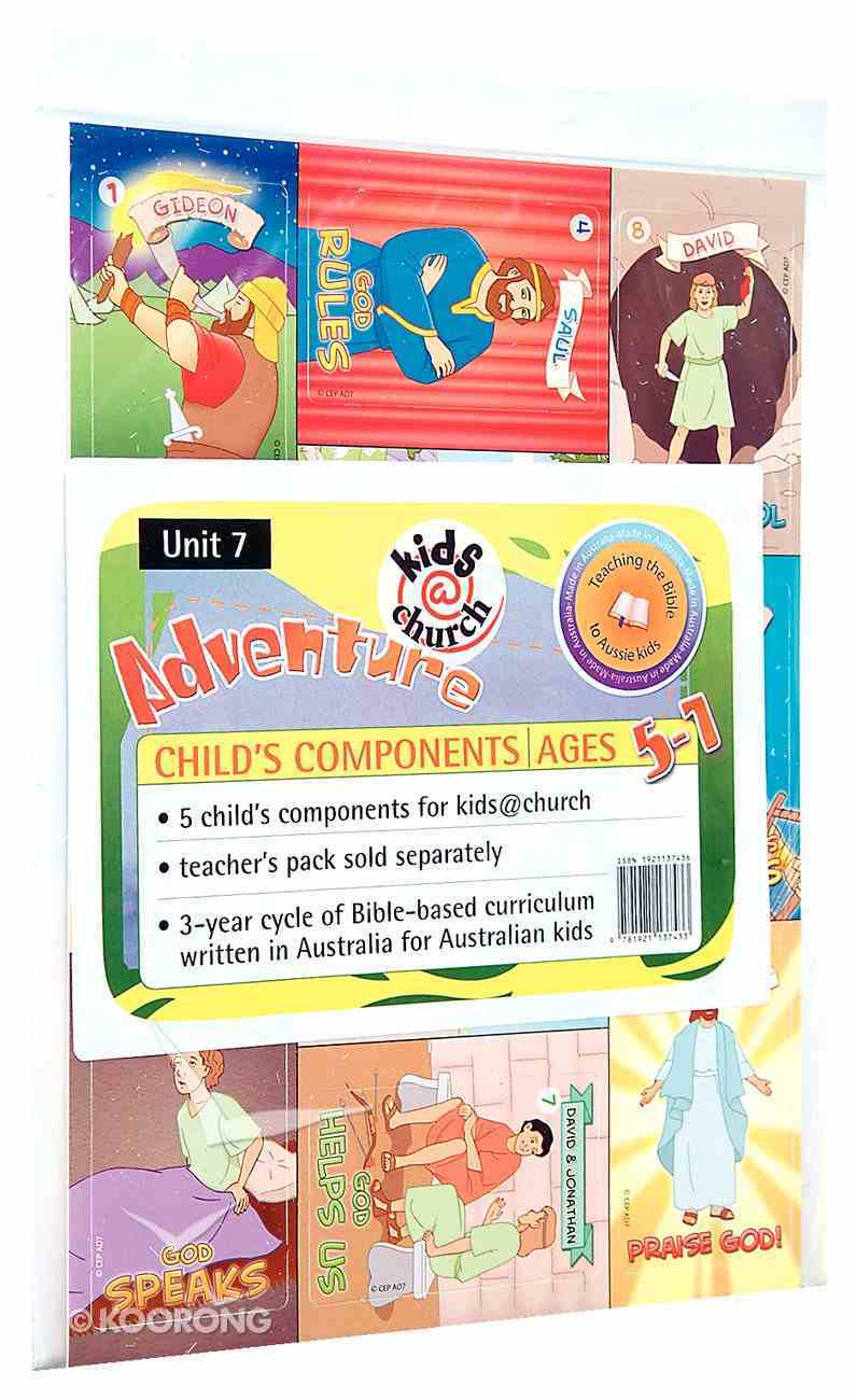 Kids@Church 07: Ad7 Ages 5-7 Child Components (5 Pack) (Adventure) (Kids@church Curriculum Series) Pack