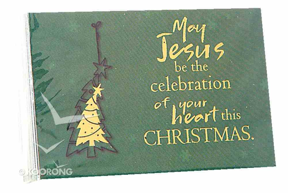May Jesus Be the Celebration (7.6 X 5.1cm) (Pass It On Cards Series) Cards