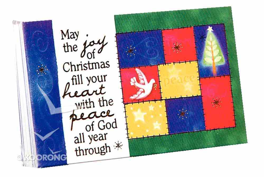 May the Joy of Christmas (7.6 X 5.1cm) (Pass It On Cards Series) Cards