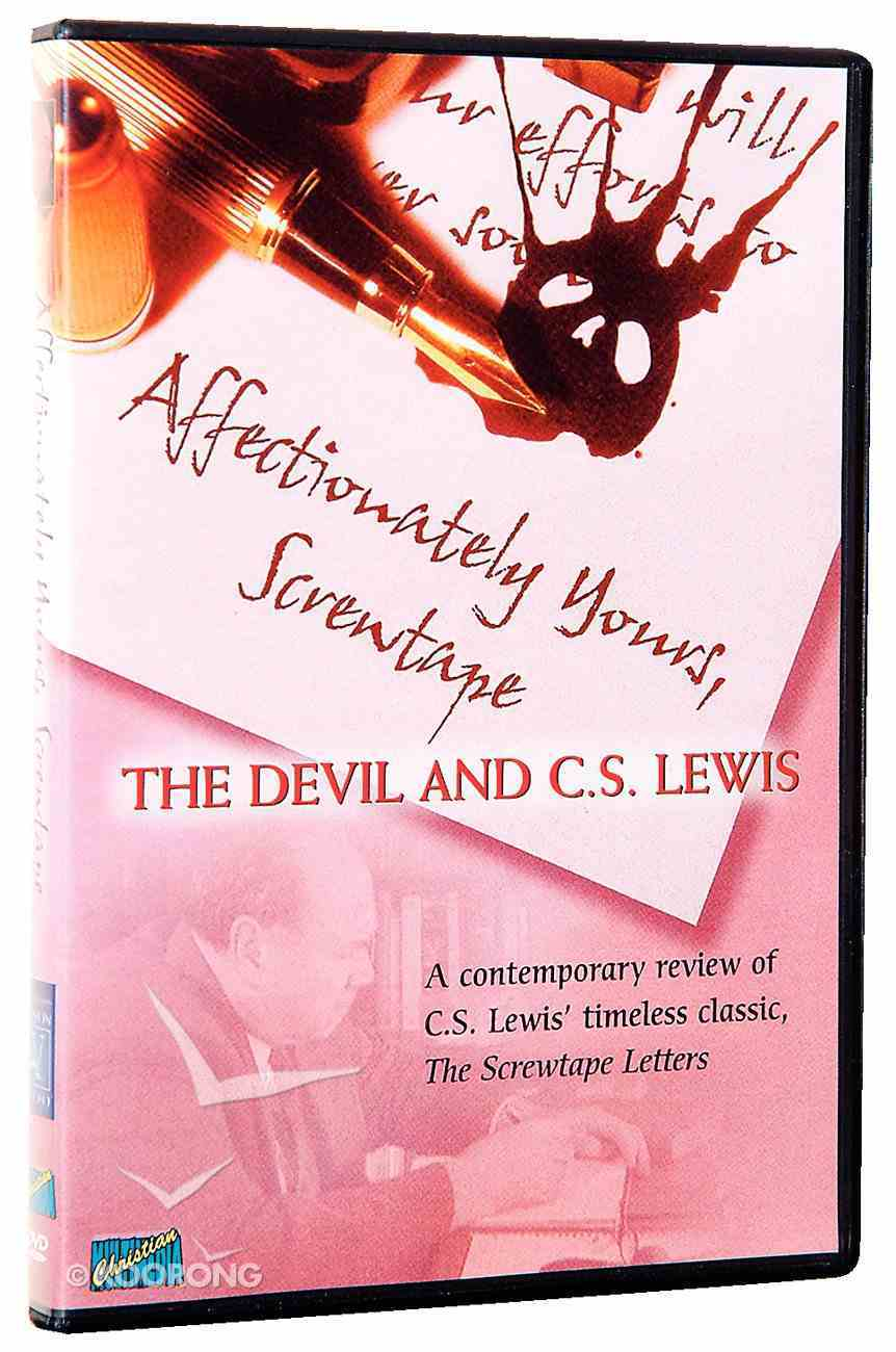 Affectionately Yours, Screwtape DVD