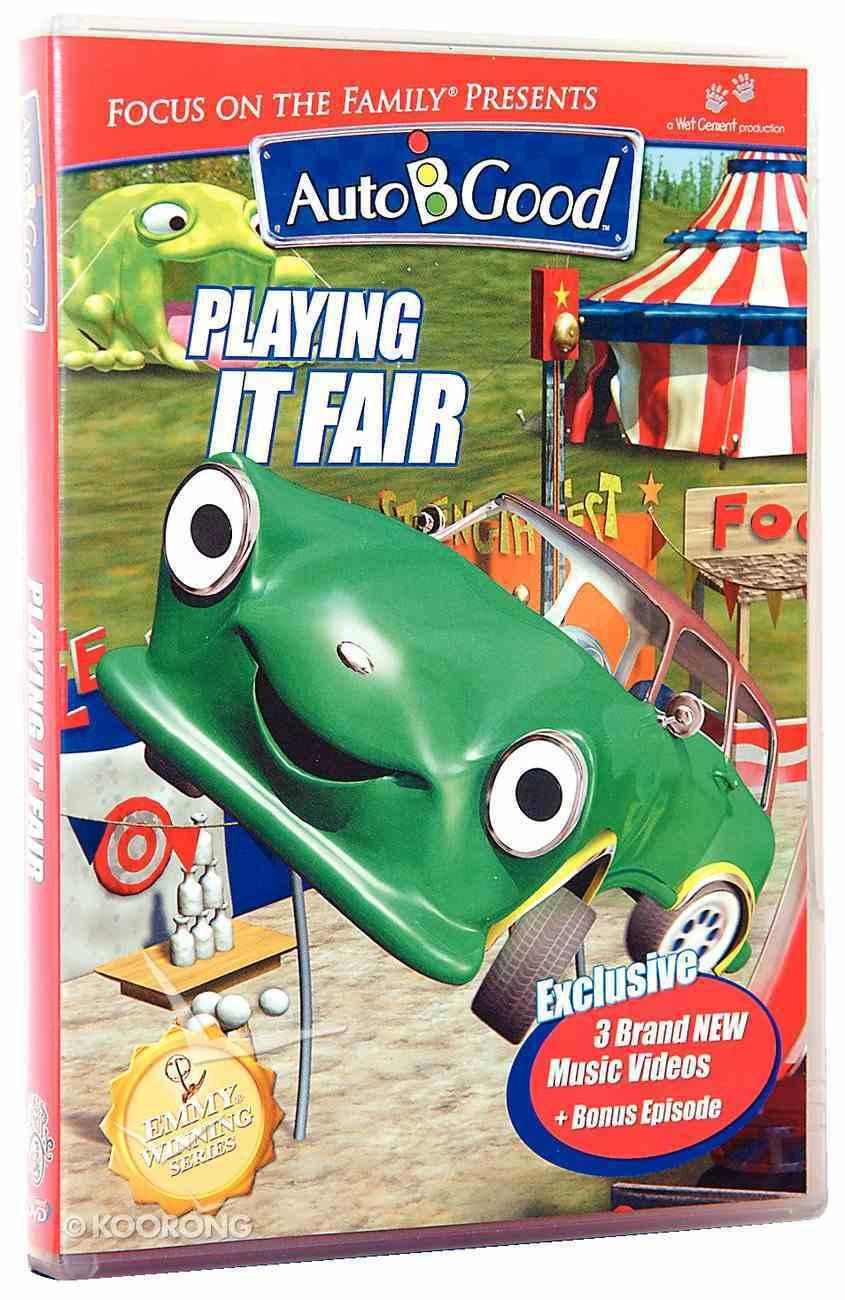 Playing It Fair (#05 in Auto B Good Dvd Season 2 Series) DVD