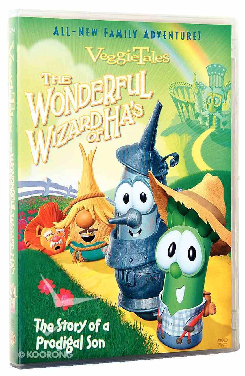 Veggie Tales #31: Wonderful Wizard of Ha's (#031 in Veggie Tales Visual Series (Veggietales)) DVD