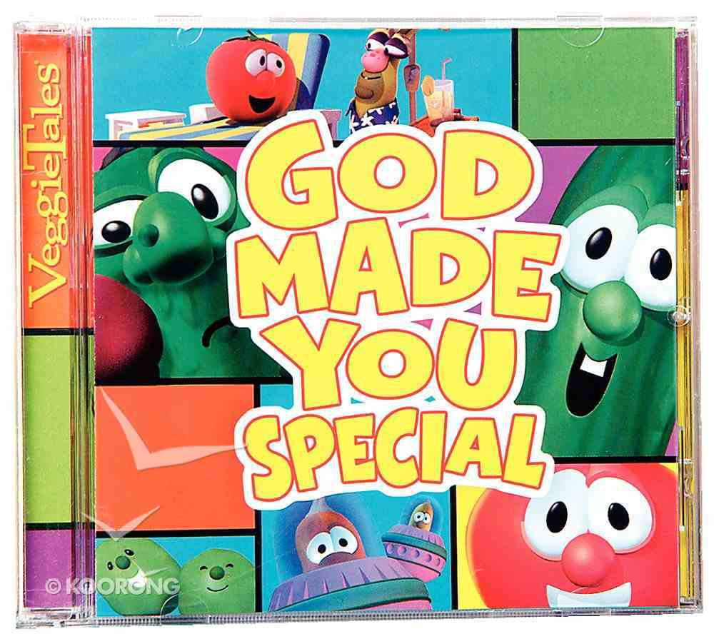 God Made You Special (Veggie Tales Music Series) CD