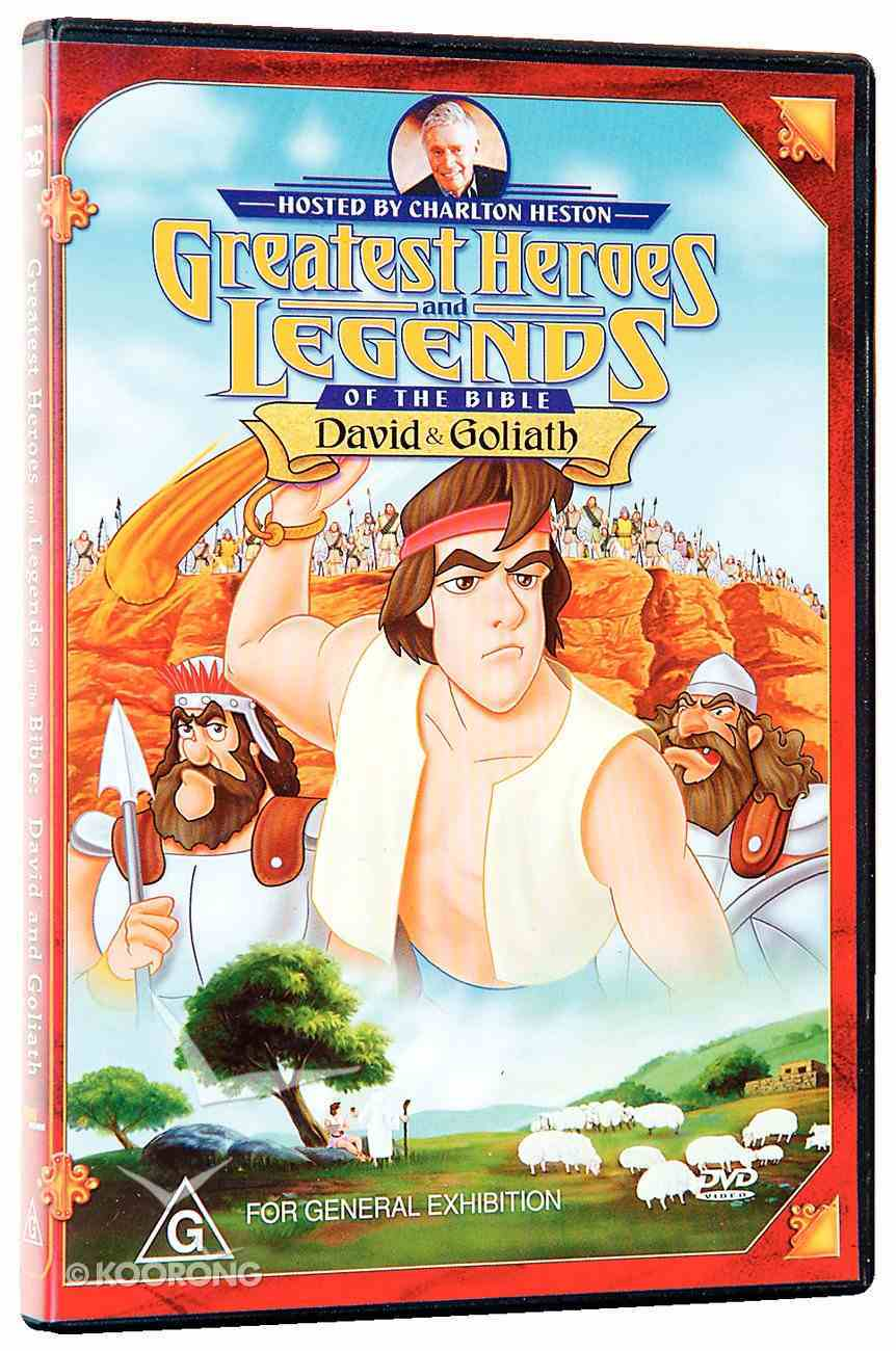 David and Goliath (Greatest Heroes & Legends Of The Bible Series) DVD