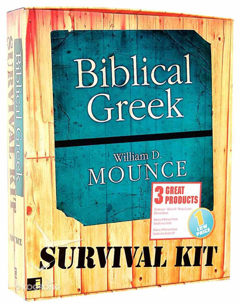 Biblical Greek Survival Kit Pack