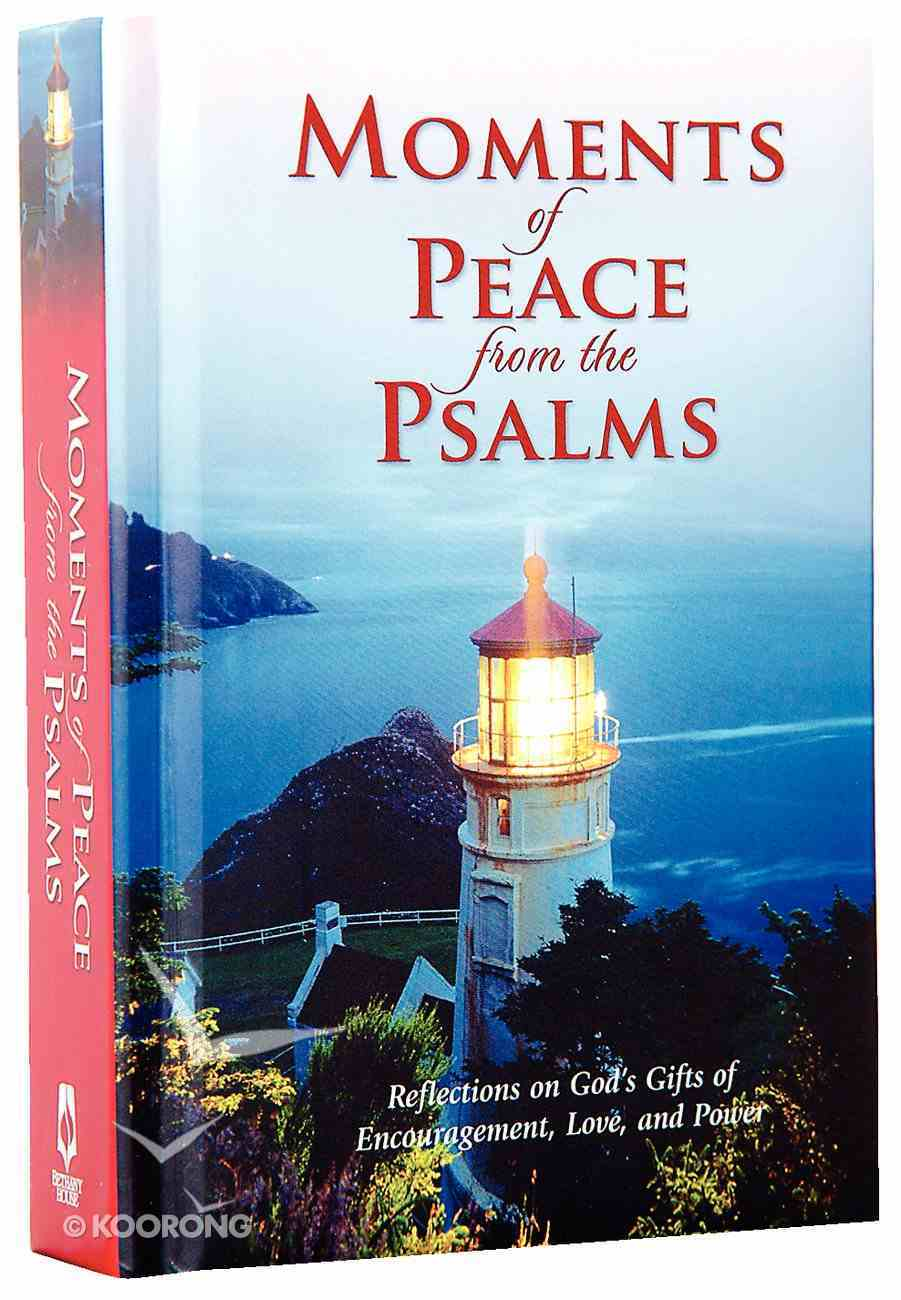 Moments of Peace From the Psalms Hardback