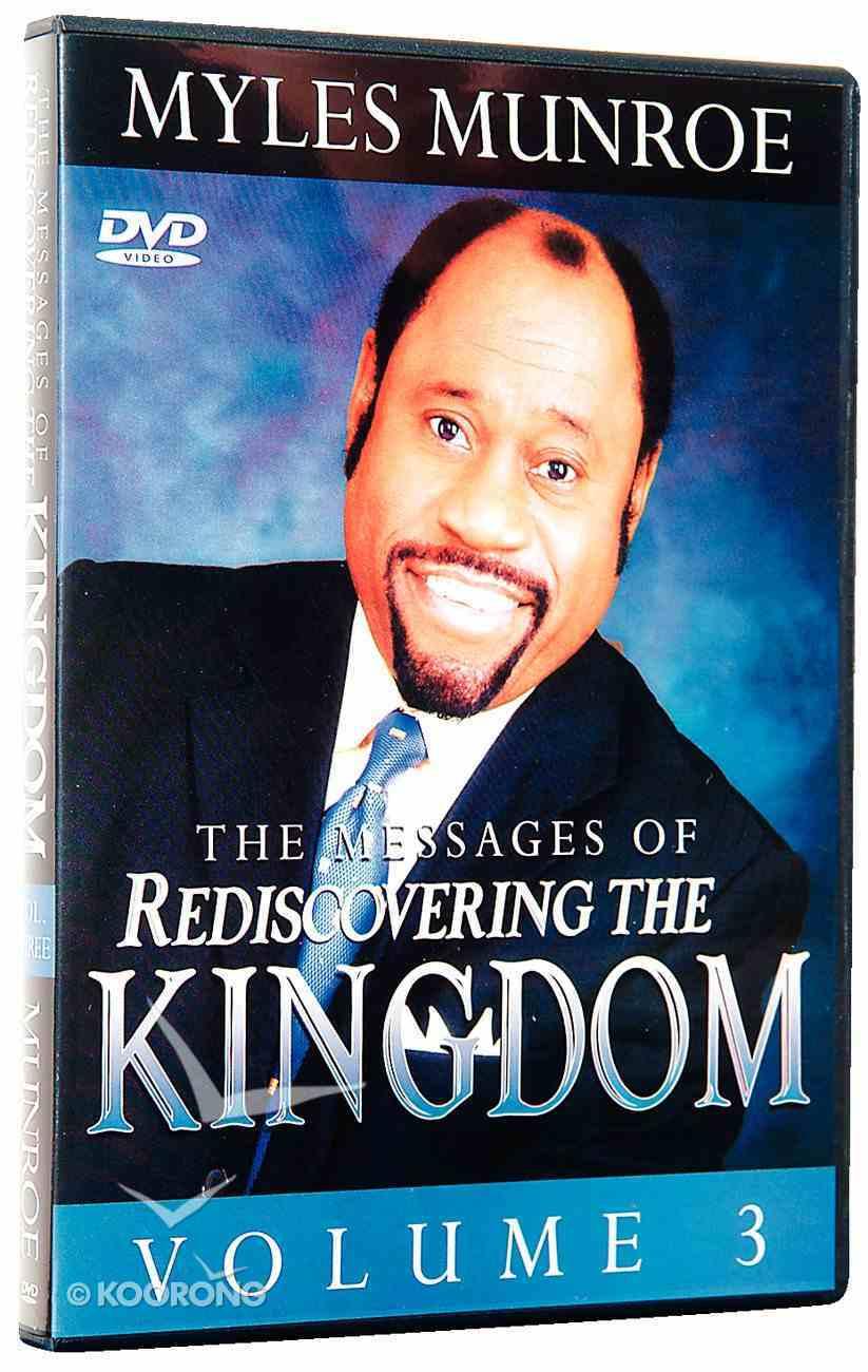 Rediscovering the Kingdom (Volume 3) DVD