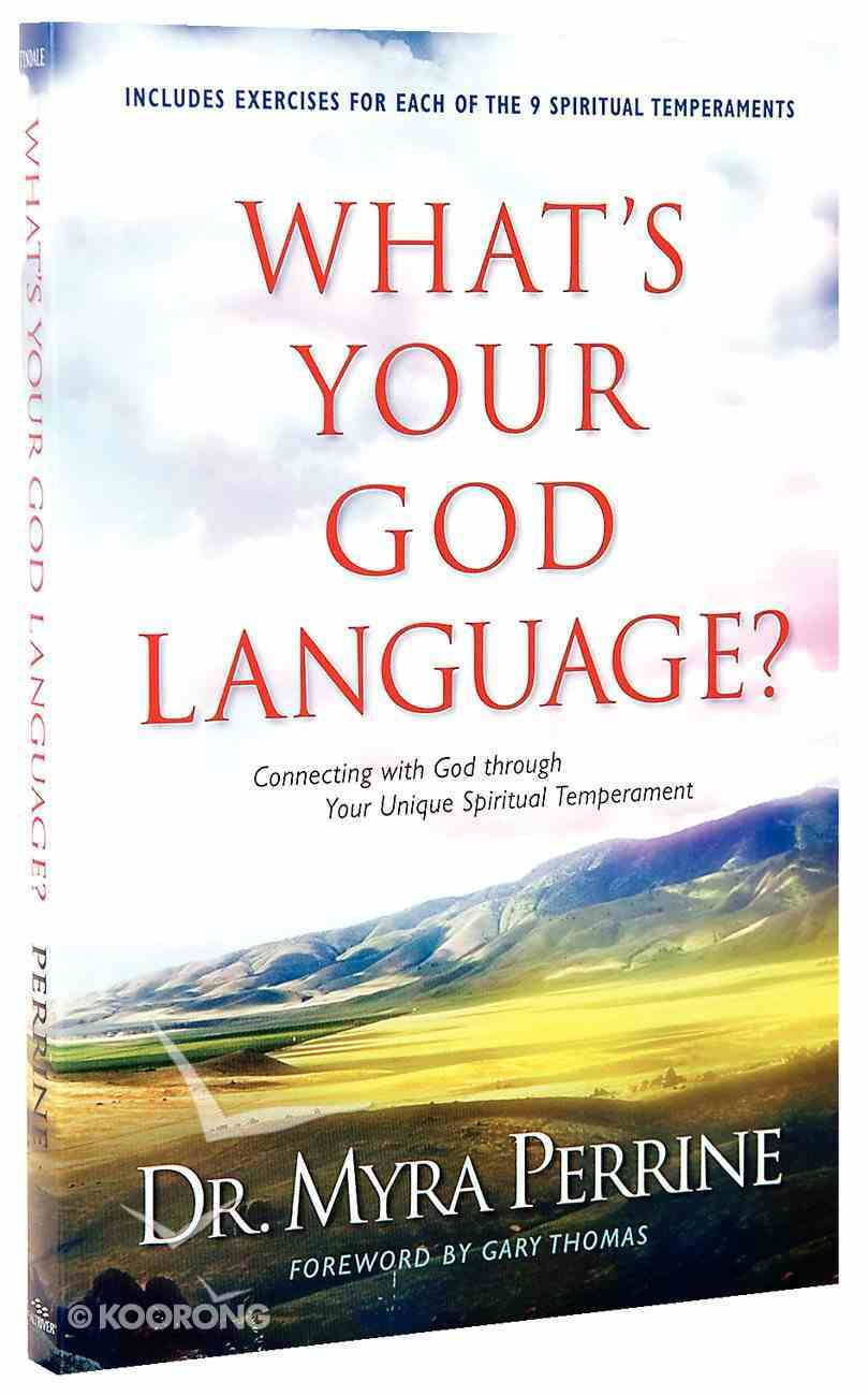 What's Your God Language? Paperback