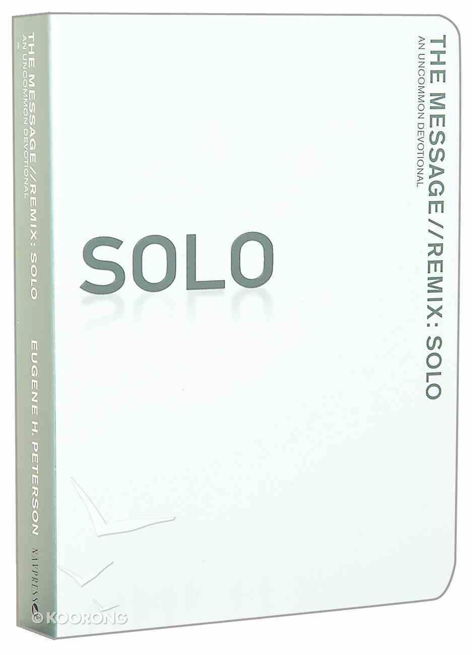 Solo Devotional (Message) Paperback