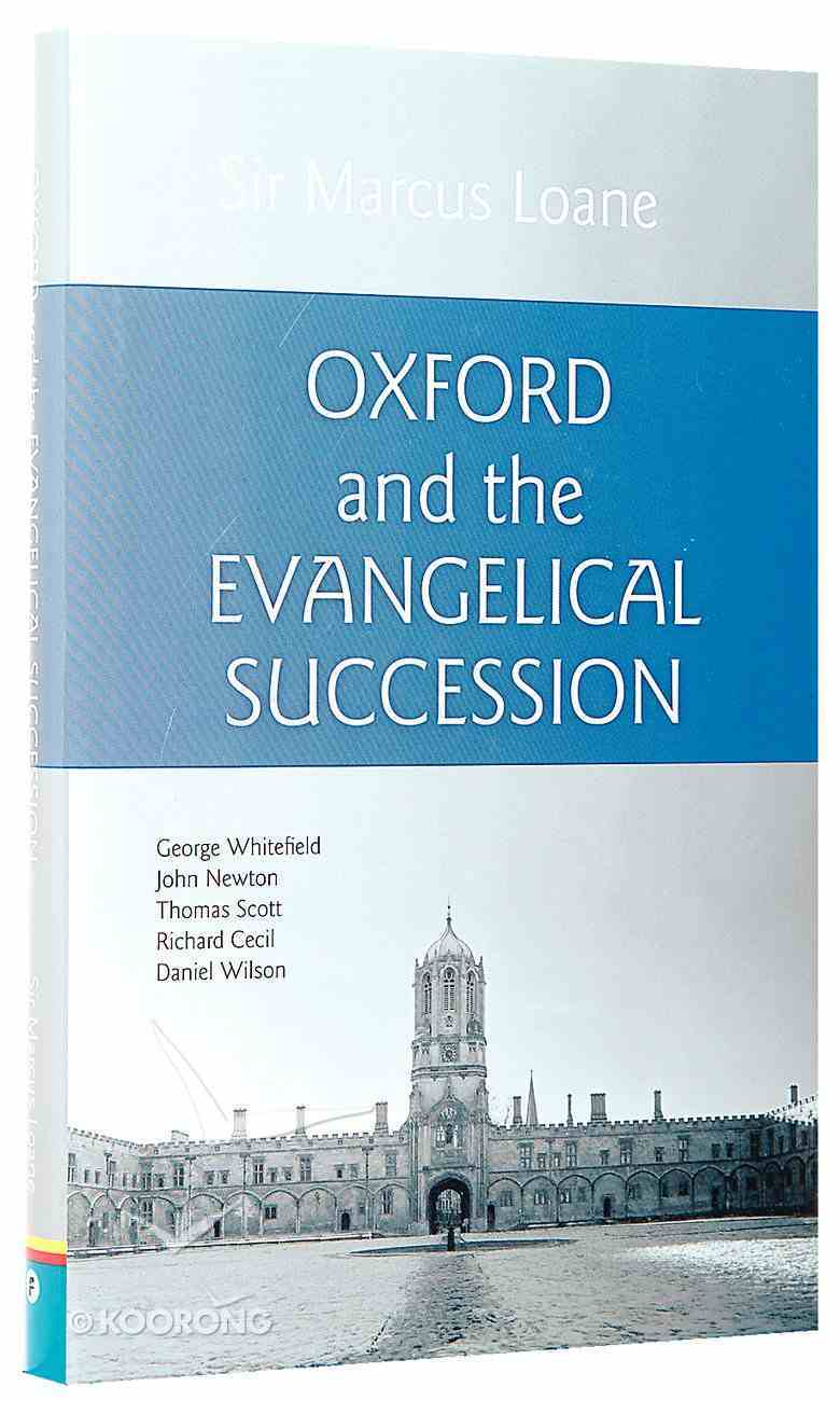 Oxford and the Evangelical Succession Hardback