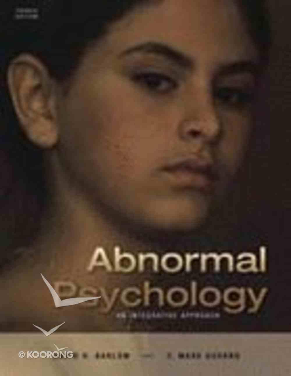 Abnormal Psychology (4th Edition) Hardback