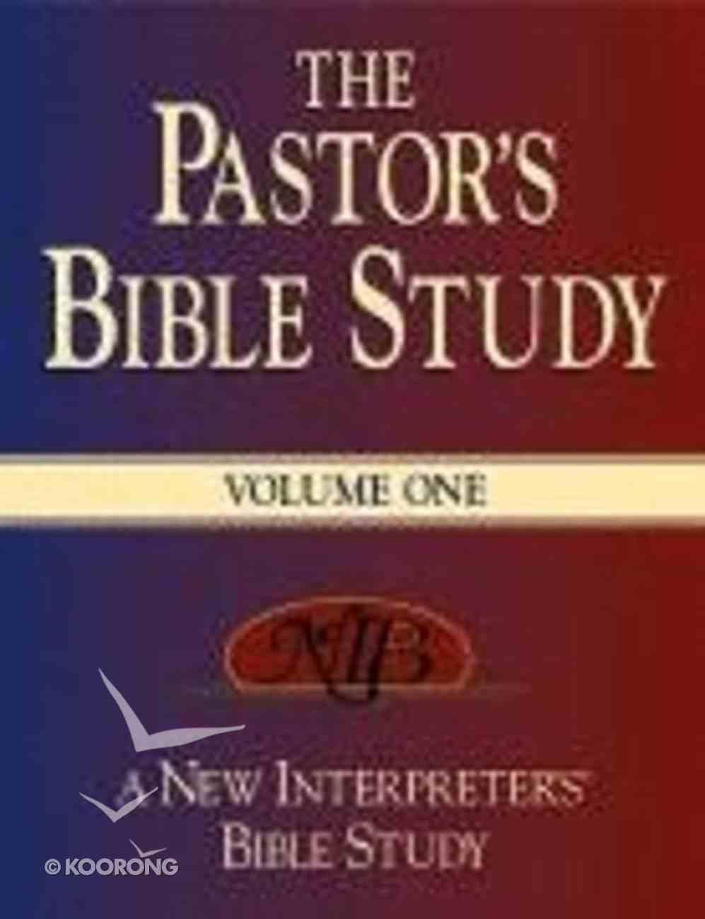 The Pastor's Bible Study (Volume 1) Hardback