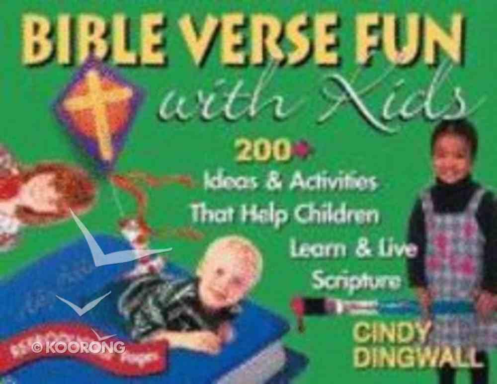 Bible Verse Fun With Kids Paperback