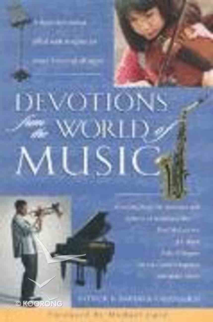 Devotions From the World of Music Paperback