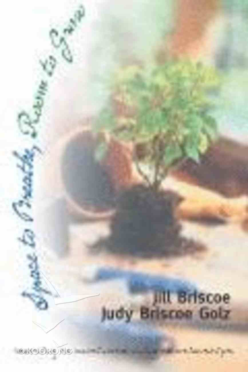 Space to Breathe, Room to Grow Paperback