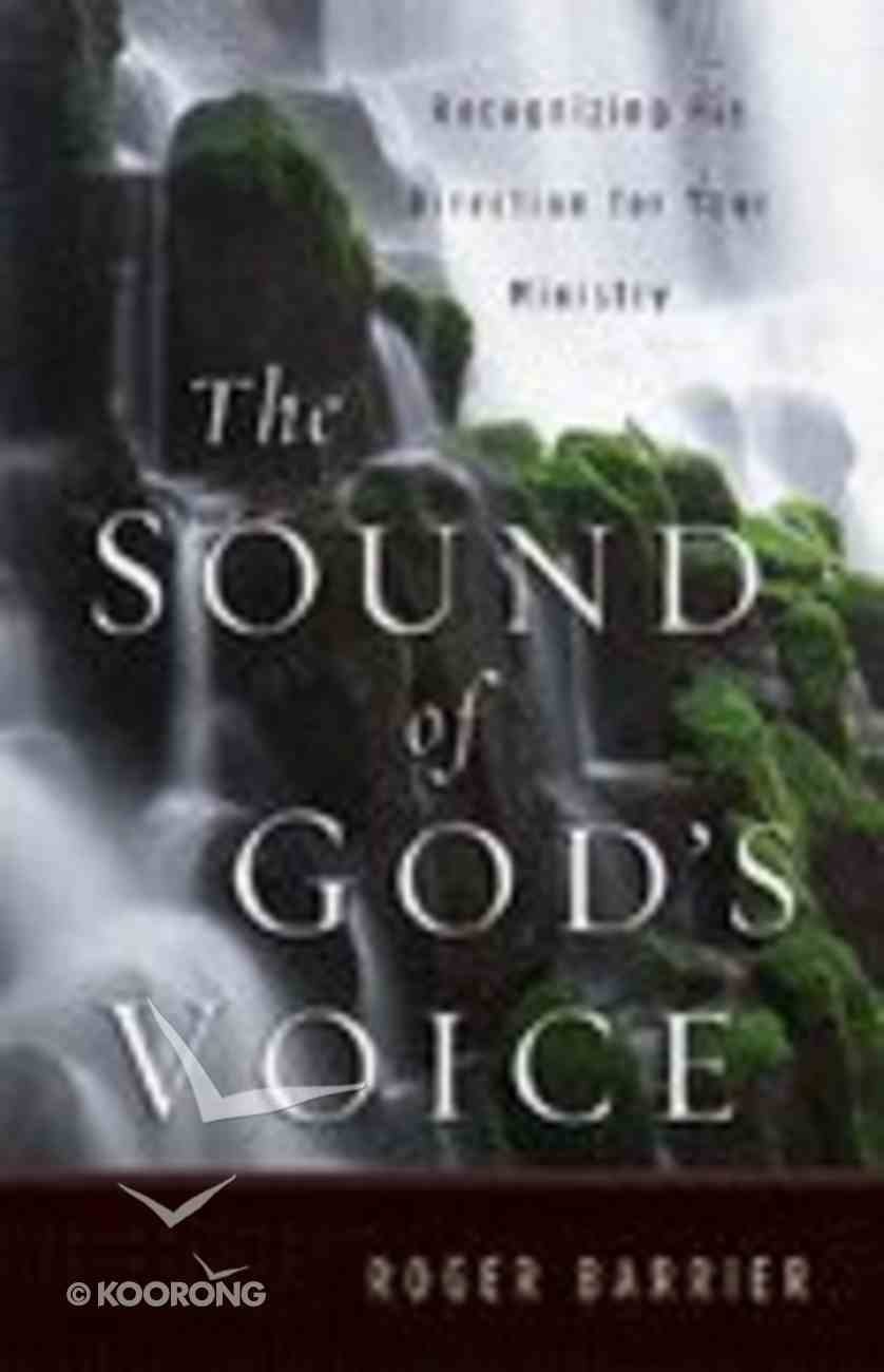 The Sound of God's Voice Paperback