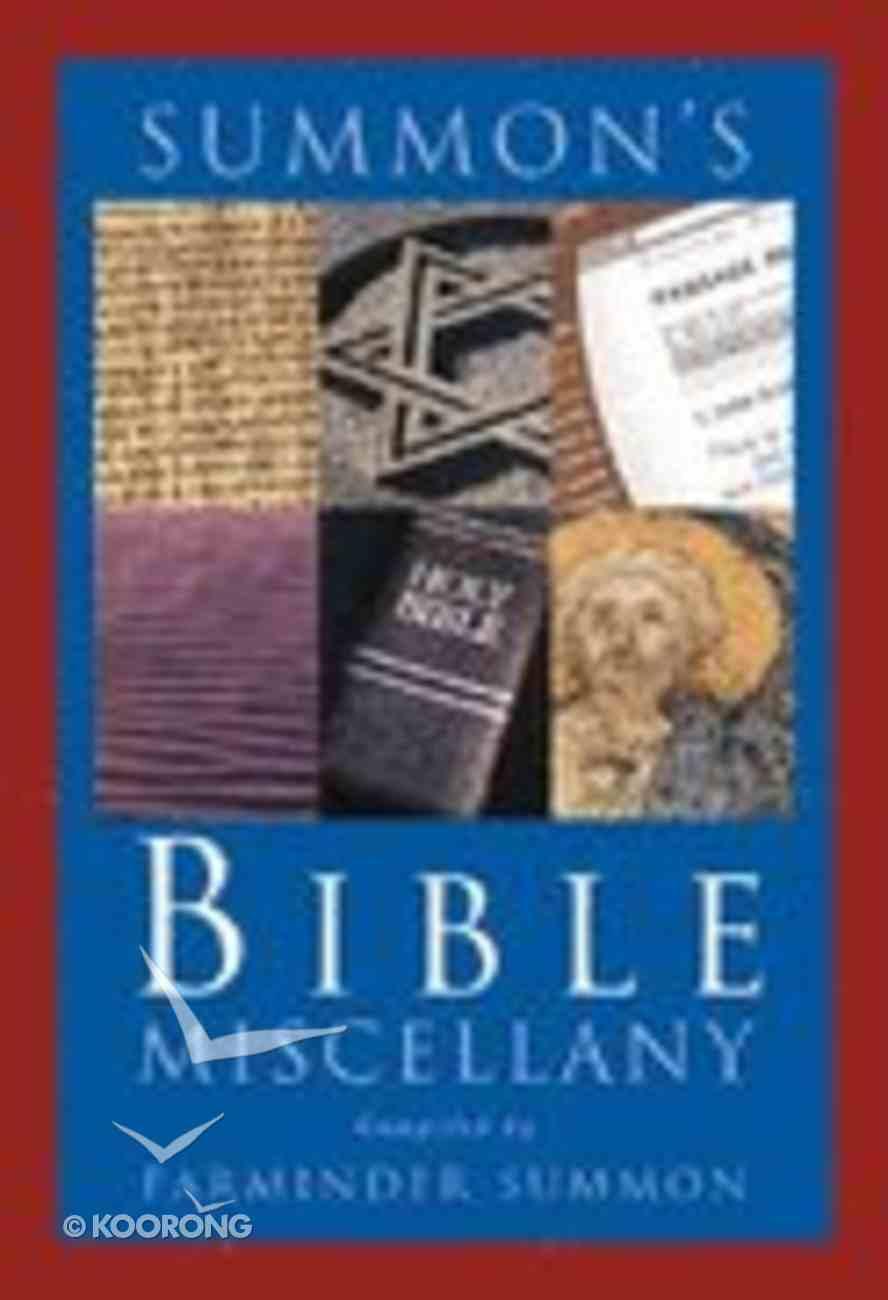 Summon's Bible Miscellany Hardback