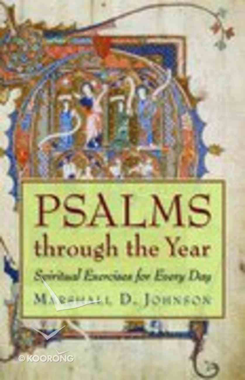 Psalms Through the Year Paperback