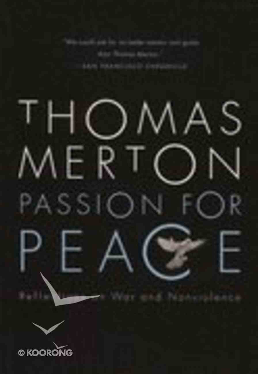 Passion For Peace Paperback
