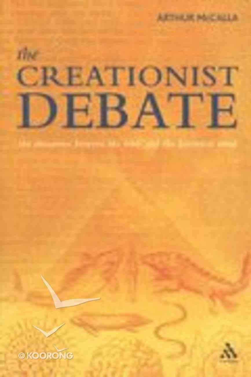 The Creationist Debate Paperback