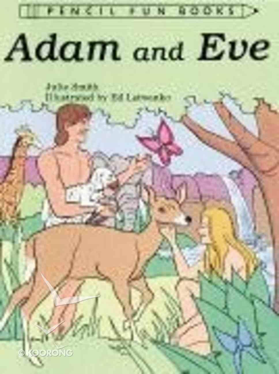 Adam and Eve (Pencil Fun Books Series) Paperback