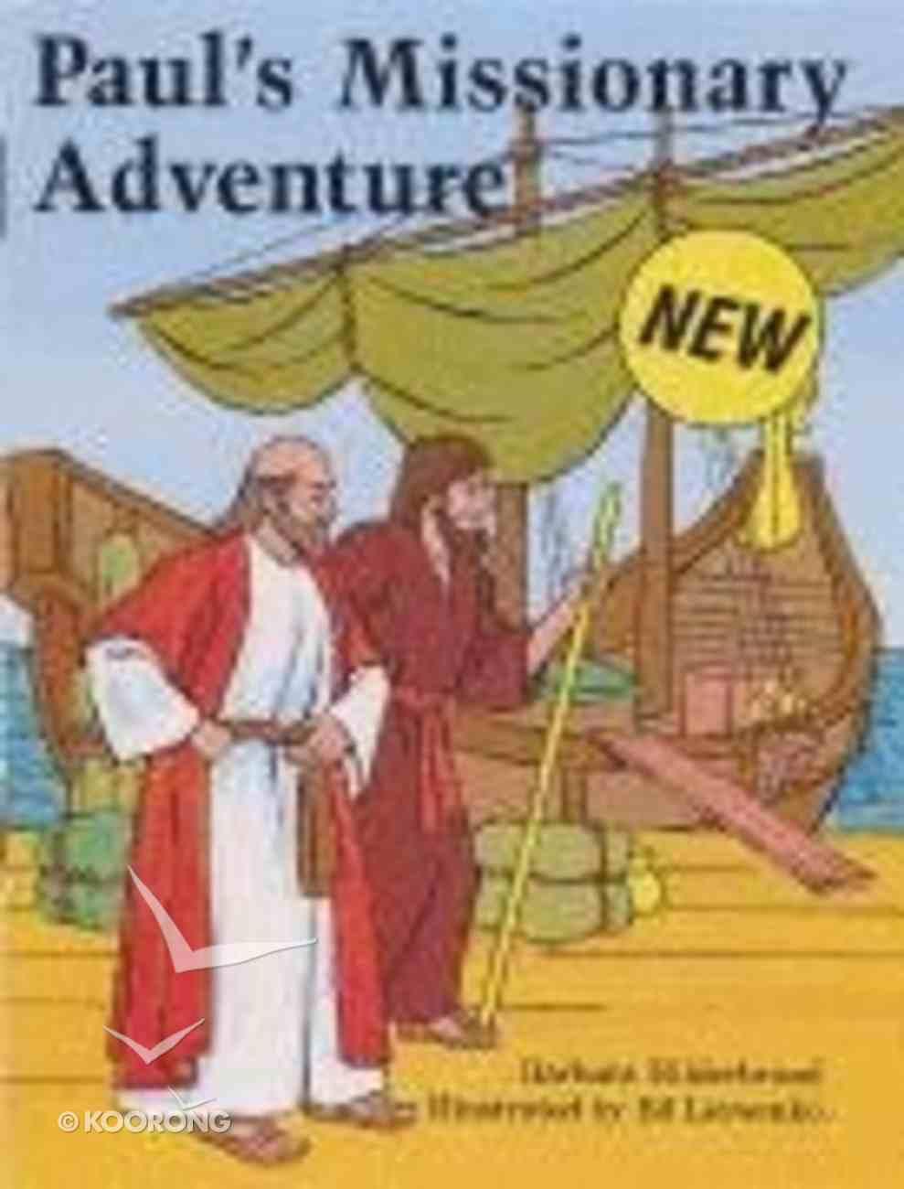 Paul's Missionary Adventure (Pencil Fun Books Series) Paperback