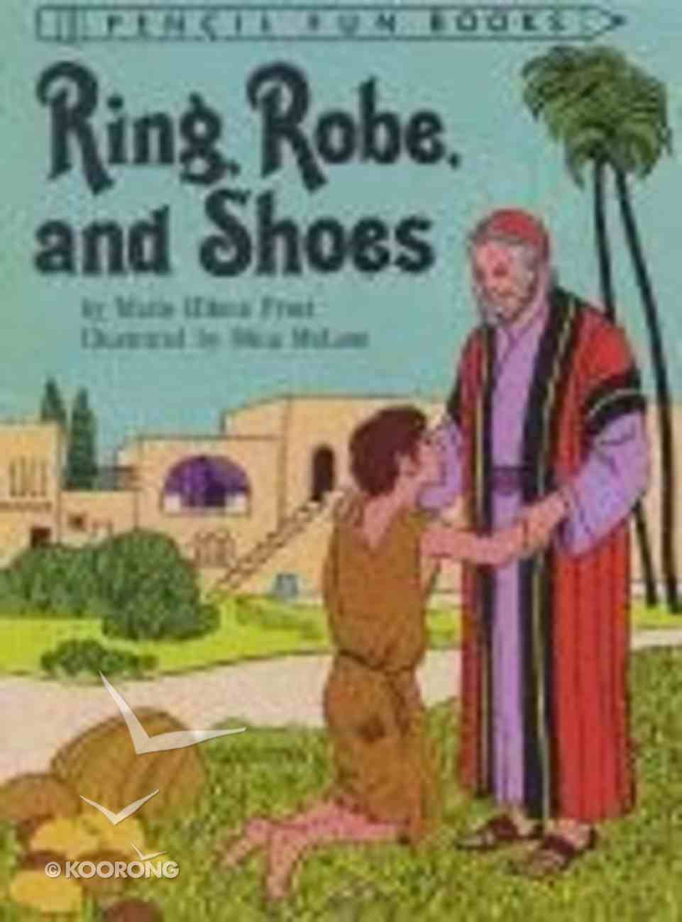 Ring, Robe and Shoes (Pencil Fun Books Series) Paperback