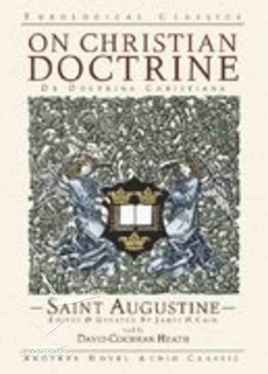 On Christian Doctrine CD