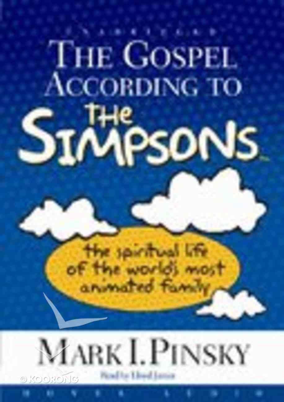 The Gospel According to the Simpsons (Unabridged, Mp3) CD